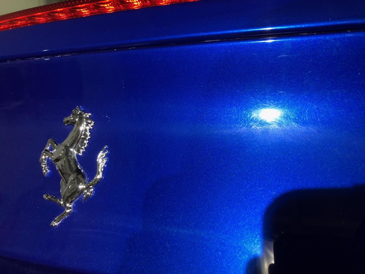 Paint Correction on a Ferrari